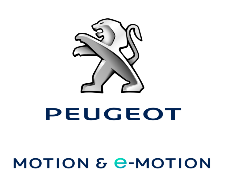 PEUGEOT logo&e-motion Blue_reduce